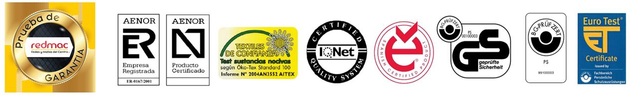 Pruebas y Certificaciones Red clase A2 y B1 rack selectivo UNE-1263